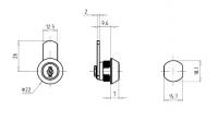 Hebelzylinder FHZ0006-Z