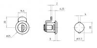 Hebelzylinder FHZ0004-Z