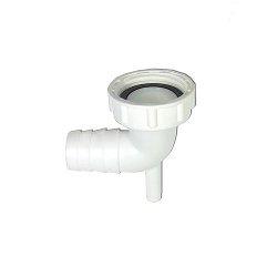 Verschraubung mit Kondenswasserstutzen